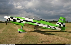 RV 8 replace green with red